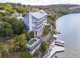 Luxury Lake Marble Falls House With Swimming Pool Hot Tub And Private Boat Slip photos Exterior