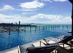 Pattaya Beach Sea View Rooftop Pool Resort photos Exterior