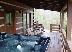 Serenity Ridge - Secluded Log Cabin On Knoll Top Setting Near Boone, Nc photos Exterior