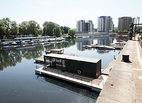 Unique Floating Container House On Vltava River By Easybnb photos Exterior