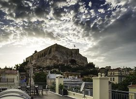 Plaka'S Villa With Breathtaking Acropolis View photos Exterior