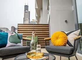 Spacious 3Br 3.5Ba Townhouse In The Loop By Domio photos Exterior