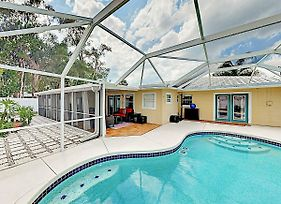 New Listing! Coastal Oasis W/ Private Screened Pool Home photos Exterior