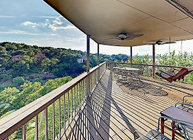 New Listing! Lakeside Palace W/ Hill Country Views Home photos Exterior