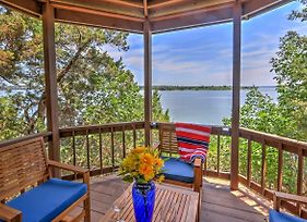 Prime Lakefront Granbury House With 2-Story Dock! photos Exterior
