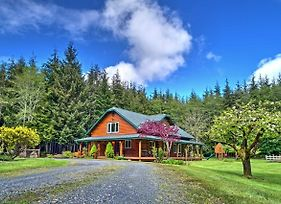 Delightful Home On 10 Acres - 10 Mins To La Push! photos Exterior