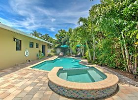 Ft Lauderdale Area Home With Pool - 3 Miles To Beach! photos Exterior