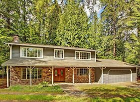 4Br Woodinville House With Wooded Views! photos Exterior