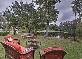 Cozy Lakefront Hernando House With Covered Patio! photos Exterior