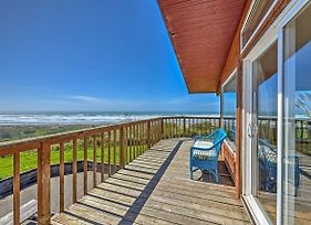 Oceanfront 'Clam Beach House' With Views And Hot Tub! photos Exterior