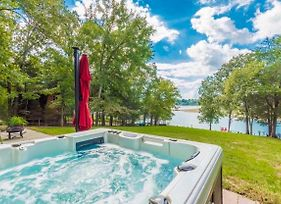 Waterfront Douglas Lake Home With Deck And Private Dock photos Exterior
