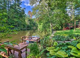 Waterfront Home With Boat Dock On Mirror Lake! photos Exterior