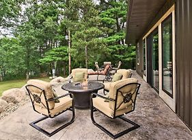 Lakefront Home With Private Dock-15 Mi To Walker photos Exterior