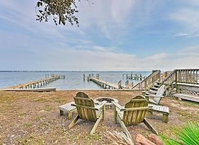 Waterfront Emerald Isle Home With Dock Access! photos Exterior