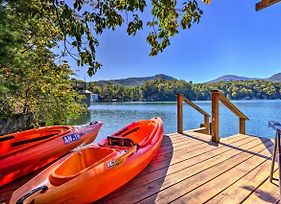Private Lake Lure Cottage W/Boathouse & Decks photos Exterior