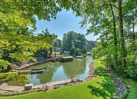 House With Private Boat Dock - Steps To Lake Norman! photos Exterior