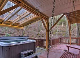 Luxury Asheville Home With Game Room, Fire Pit And Deck photos Exterior