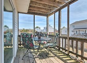 Chincoteague Townhome With Pony Views From Deck! photos Exterior