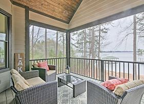 Seneca Home With Porch And Private Dock On Lake Keowee! photos Exterior