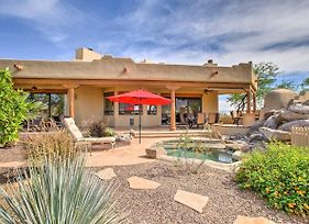 Superb Cave Creek House With Patio And Mountain Views! photos Exterior