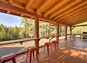 Rustic Flagstaff Cabin With Views, Sauna, And Fire Pit! photos Exterior