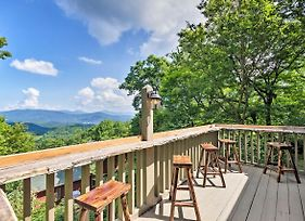 Cabin With Hot Tub And Mountain Views, 15 Min To Boone photos Exterior