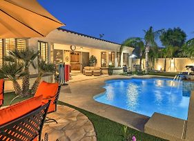 Lux Gilbert Home W/Pvt Heated Pool+Putting Green! photos Exterior