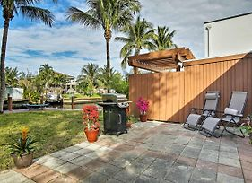 Ft. Lauderdale Townhome On Canal - 3 Mi. To Beach! photos Exterior