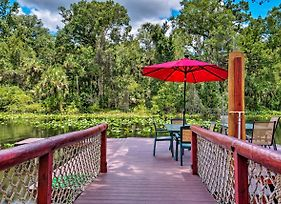 Riverfront Orlando Area Cabin In Wekiwa State Park photos Exterior