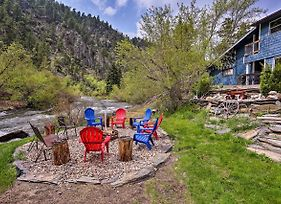 Rapid Creek Waterfront Cabin In Black Hills! photos Exterior