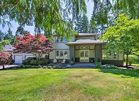 Seattle Home With Fire Pit And Pvt Putting Green photos Exterior