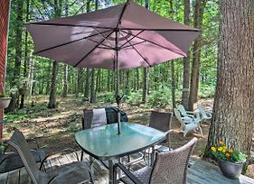 Quiet And Remote Waterfront Cottage On Panther Pond! photos Exterior