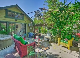 Downtown Orange Cottage W/ Garden & Hot Tub! photos Exterior