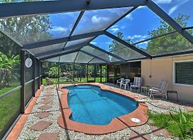 Waterfront Crystal River House With Screened-In Pool! photos Exterior