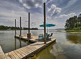 Home On Jordan Lake With Shared Dock And Boat Slip! photos Exterior
