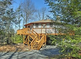 Blakeslee Round Home W/Deck -1 Mile To Big Boulder photos Exterior