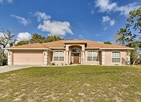Bright Spring Hill Home - 10 Mins To Weeki Wachee! photos Exterior