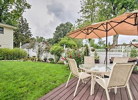 Waterfront Lake Wawasee Home With Patio And Dock! photos Exterior