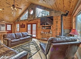 Rustic Cabin With Hot Tub - 7 Miles To Hocking Hills photos Exterior
