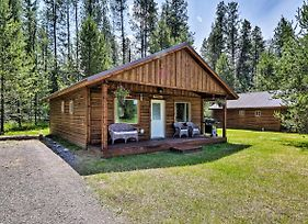 Custom Cabin With Grill - 6 Miles To West Glacier! photos Exterior