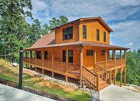 Spacious Murphy Cabin With Decks And Wooded Views! photos Exterior