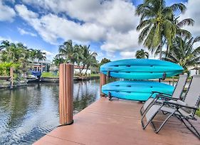 Retreat W/Dock Near Hollywood Bch Boardwalk! photos Exterior