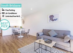 City View Luxury 2Bed Apt @ South Brisbane photos Exterior