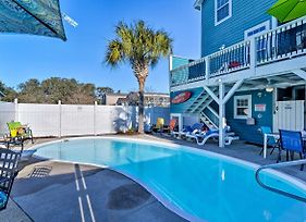 Updated Surfside Beach Home With Pool - Steps To Beach photos Exterior