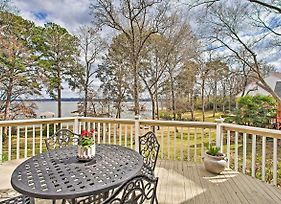 Large Waterfront Lake Palestine Home With Deck And Dock photos Exterior