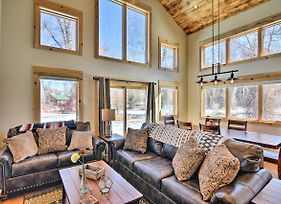 Riverfront Home With Bbq - 2 Mi To Downtown Gunnison! photos Exterior