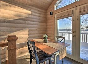 Woodsy Cabin On Camp Lake With Boat Slip And Dock! photos Exterior