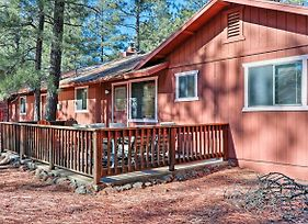 Family Friendly Pinetop Lakes Country Club Cabin! photos Exterior