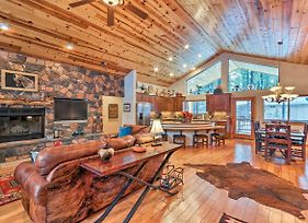 Lavish Cabin With Deck Less Than 3 Mi To Pinetop Country Club photos Exterior