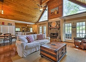 Lavish Lake Sinclair Home With Dock And Private Beach photos Exterior